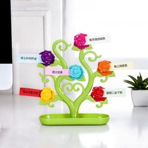 创意浪漫玫瑰冰箱贴 留言贴 糖果色装饰物 RB254 绿色