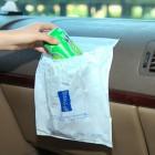 创意粘贴式车用垃圾袋3个装 车载垃圾袋子塑料袋垃圾袋