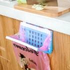 厨房日用垃圾袋收纳架 垃圾袋固定支架