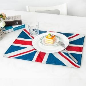 英国国旗款桌垫 杯垫 隔热垫 餐垫
