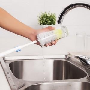30年老品牌振兴 可伸缩保温瓶清洁刷 玻璃杯刷 奶瓶刷 SA7804
