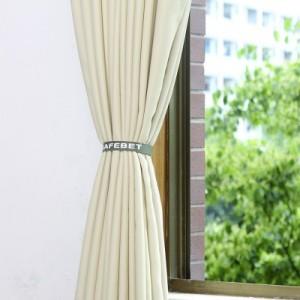 韩式简版子母扣多功能便携魔术贴窗帘扣 2条装
