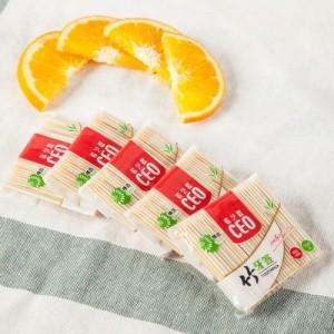 纯天然袋装竹牙签 精细打磨竹牙签(150支装)Y111