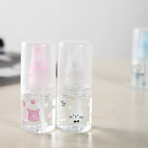可爱透明肌肤补水随身喷雾瓶 便携式化妆水细雾小喷壶 028L 白色