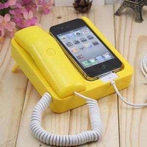 iPhone4复古电话座机 蓝色