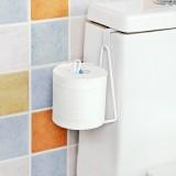 门背式铁艺纸巾架 卫生间浴室纸巾筒卷纸收纳架