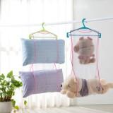 创意家居枕头靠垫晾晒袋 洗衣晾晒收纳网袋 JY083
