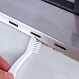 厨房灶台水槽缝隙刷双头清洁刷 浴室清洁 键盘清理刷子 吸盘可挂 KM.1076