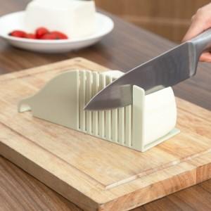 厨房创意多功能豆腐切块器 豆腐切片器模具 粉色