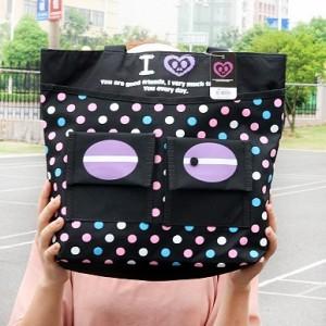 鄙视的眼神购物袋 CY-B1240 深蓝色