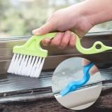 创意手握式沟槽门窗缝隙刷子 凹槽清洁刷 c008(混卖)