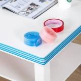 加厚PVC婴儿安全防撞条 多用宝宝护角条 儿童桌边防磕碰保护条1米 蓝色
