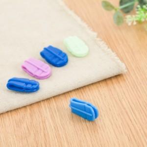 收纳整理袋封口夹 密封袋扣子 自封压缩袋拉边扣 紫色