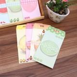 韩国文具水果王国A4大信纸套装(3信封+7信纸)NJ-044-01