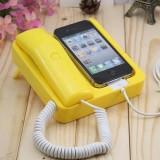 iPhone4复古电话座机 黑色
