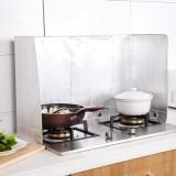 厨房专用可折叠铝箔挡油板 煤气灶隔热隔油板 防油溅板