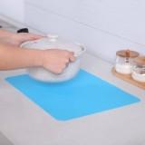 糖果色硅胶餐桌垫硅胶隔热垫 餐垫碗垫盘垫杯垫防烫垫 绿色