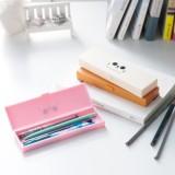 卡通印花多功能玩具盒 猫咪图案PP塑料铅笔盒 (大号)JY121 棕色
