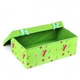 绿色苹果 丝韵收纳盒(小号)