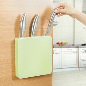 创意厨房用品厨具收纳储存刀具  多功能隐藏刀架 蓝色