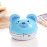 可爱卡通动物定时器小闹钟 RB190 蓝色小熊