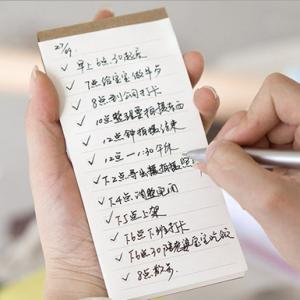 日韩文具创意便携式便签本 可撕环保型随身记事本  TODO记事