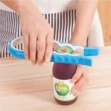 创意多功能四合一开盖器 省力开瓶器 防滑拧瓶盖器 粉色
