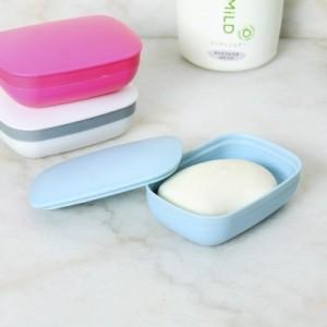 居家旅行必备密封肥皂盒旅行便携式肥皂收纳盒 JY118 玫红