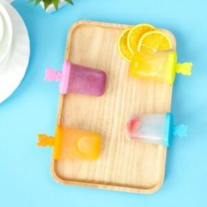 30年老品牌振兴 创意自制雪糕冰格模具小猪棒冰模冰格 4支装 YH5006