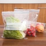 30年老品牌振兴 双封条密封保鲜袋密实袋 食物标记存储袋(30只装)BXM6523