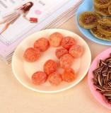 炫彩塑料餐具小碟子 零食瓜子平底盘子小吃碟 米白色 600个/箱