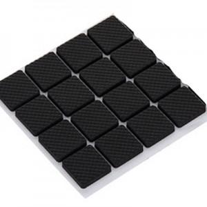 经济型 加厚桌椅脚垫 家具脚垫防滑静音保护垫 方形16片装