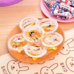 炫彩塑料餐具小碟子 零食瓜子平底盘子小吃碟 浅咖啡 600个/箱
