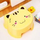 儿童凳子婴儿宝宝动物卡通造型加厚塑料换鞋凳小板凳 猫咪