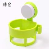 强力吸盘吹风机架浴室置物架卫生间风筒挂架收纳架子 绿色