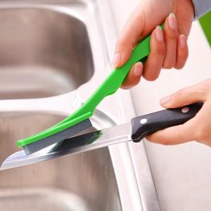 厨房快速磨刀器家用便携菜刀水果刀剪刀磨刀石磨刀棒 500个/件