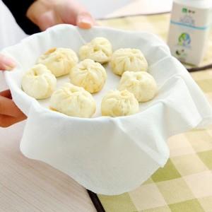 棉质蒸笼布蒸馒头垫厨房用品笼屉布包子纸不粘蒸笼纱布   1300个/件