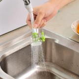 水龙头防溅花洒厨房过滤器省自来水节水花洒头过滤嘴 绿色