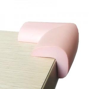 婴儿安全防撞角加厚加长桌角保护套宝宝防护角 8个装 粉色