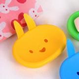 大号小兔子子皂盒 黄色   300一件