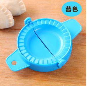 厨房包饺子器手动捏水饺工具饺子夹模具 蓝色 800个/件