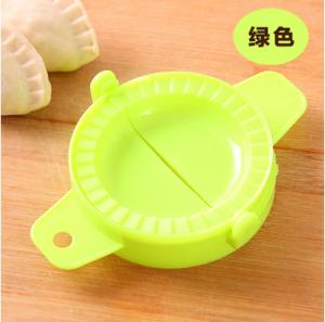厨房包饺子器手动捏水饺工具饺子夹模具 绿色 1000个/件