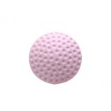 加厚静音门后墙面防撞垫高尔夫球造型橡胶防碰垫   粉色