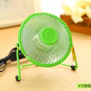 防寒必备4寸铁艺小太阳电暖风机/迷你桌面取暖器 绿色 60个/箱