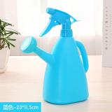 家用手压式两用喷壶浇花壶 塑料园艺喷雾器洒水壶  蓝色