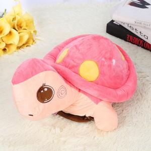 新款电热水袋 防爆卡通充电暖手宝 超大乌龟  粉色