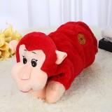 新款电热水袋 防爆卡通充电暖手宝 拜年系列  红色猴