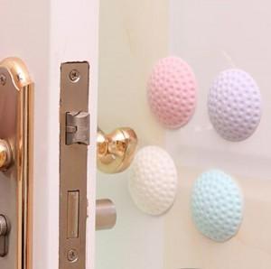 加厚静音门后墙面防撞垫高尔夫球造型橡胶防碰垫   紫色  500个一件