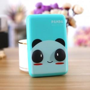 韩国卡通可爱立体卡片包 6卡位银行公交卡套收纳包 熊猫 300个/箱