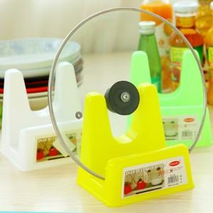 大号多功能塑料带接水盘锅盖架砧板架菜刀架厨房置物架